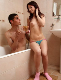 Hot teen fucks with her bf